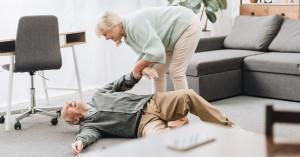 Pflegefall-Sturz